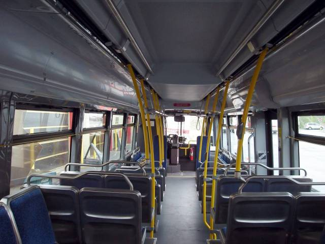 OC Bus interior